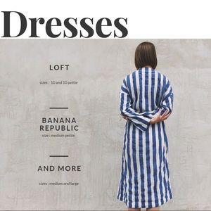 Dresses, Skirts, and a Romper!